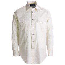 Rough Stock Artesia Vintage Western Shirt - Snap Front, Long Sleeve (For Men) in Tan - Closeouts