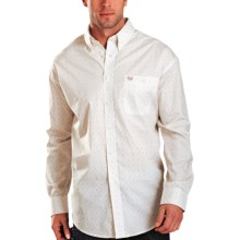 Rough Stock by Panhandle Slim Artesia Vintage Shirt - Long Sleeve (For Men) in Tan - Closeouts
