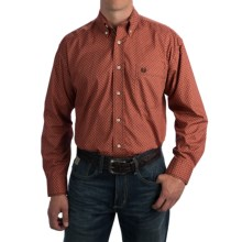 Rough Stock by Panhandle Slim Peralta Vintage Shirt - Long Sleeve (For Men) in Rust - Closeouts