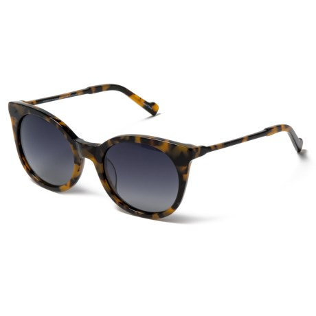 Rounded Lens Sunglasses - Polarized