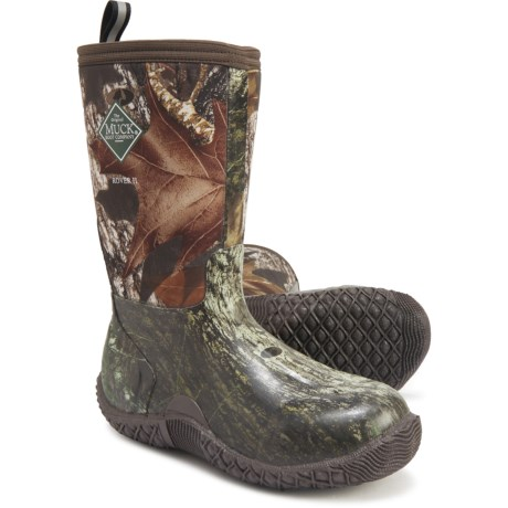 Rover II Boots - Waterproof, Insulated (For Boys) - MOSSY OAK (4C )