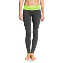 Roxy All Around Workout Pants (For Women) in India Ink Heather - Closeouts