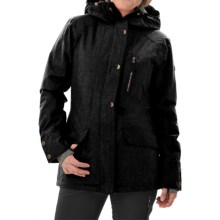 Roxy Andie Snowboard Jacket - Waterproof, Insulated (For Women) in Anthracite - Closeouts