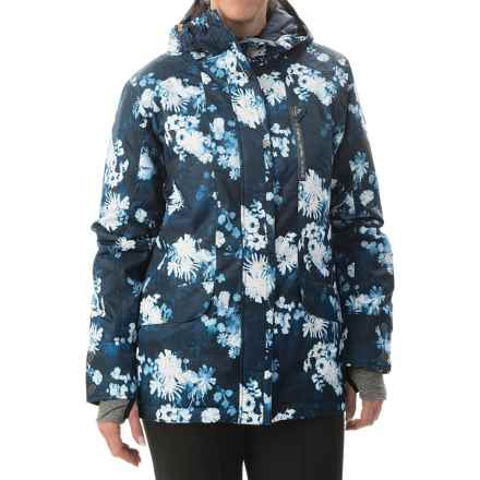 Roxy Andie Snowboard Jacket - Waterproof, Insulated (For Women) in Ina Floral - Closeouts