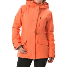 Roxy Andie Snowboard Jacket - Waterproof, Insulated (For Women) in Nasturtium - Closeouts