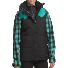 Roxy Cheyenne Jacket - 550 Fill Power, Removable Sleeves (For Women) in Ceramic - Closeouts