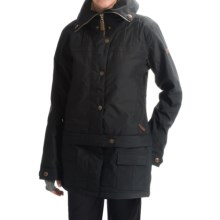 Roxy Delorean Ski Jacket - Waterproof, Insulated (For Women) in Anthracite - Closeouts