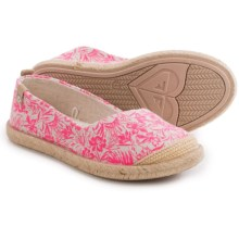 Roxy Flamenco Shoes - Slip-Ons (For Little and Big Girls) in Pink - Closeouts