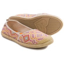 Roxy Flamenco Shoes - Slip-Ons (For Women) in Multi - Closeouts