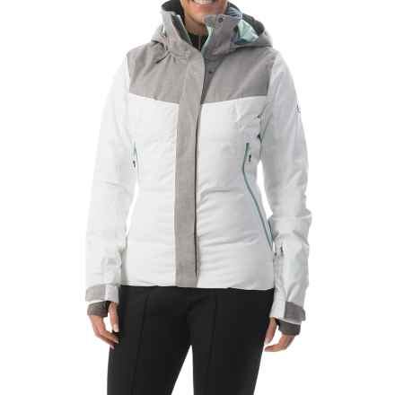 Roxy Flicker Snowboard Jacket - Waterproof, Insulated (For Women) in Bright White - Closeouts