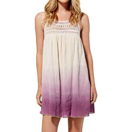 Roxy High Strung Halter Dress - Sleeveless (For Women) in Purple Dye - Closeouts