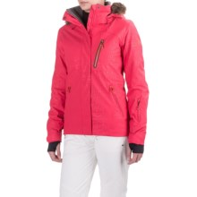 Roxy Jet Ski Premium Snowboard Jacket - Waterproof, Insulated (For Women) in Azalea - Closeouts