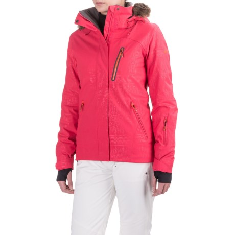 Roxy Jet Ski Premium Snowboard Jacket Waterproof, Insulated (For Women)