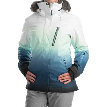 Roxy Jet Ski Premium Snowboard Jacket - Waterproof, Insulated (For Women) in Gradient Print - Closeouts