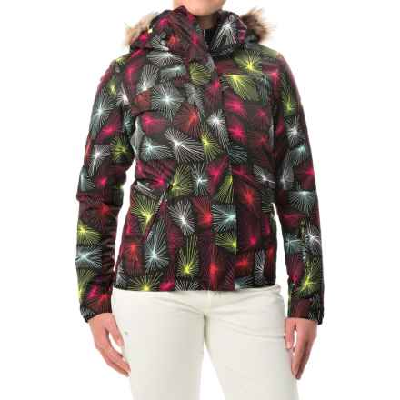 Roxy Jet Ski Snowboard Jacket - Waterproof, Insulated (For Women) in Deepa - Closeouts