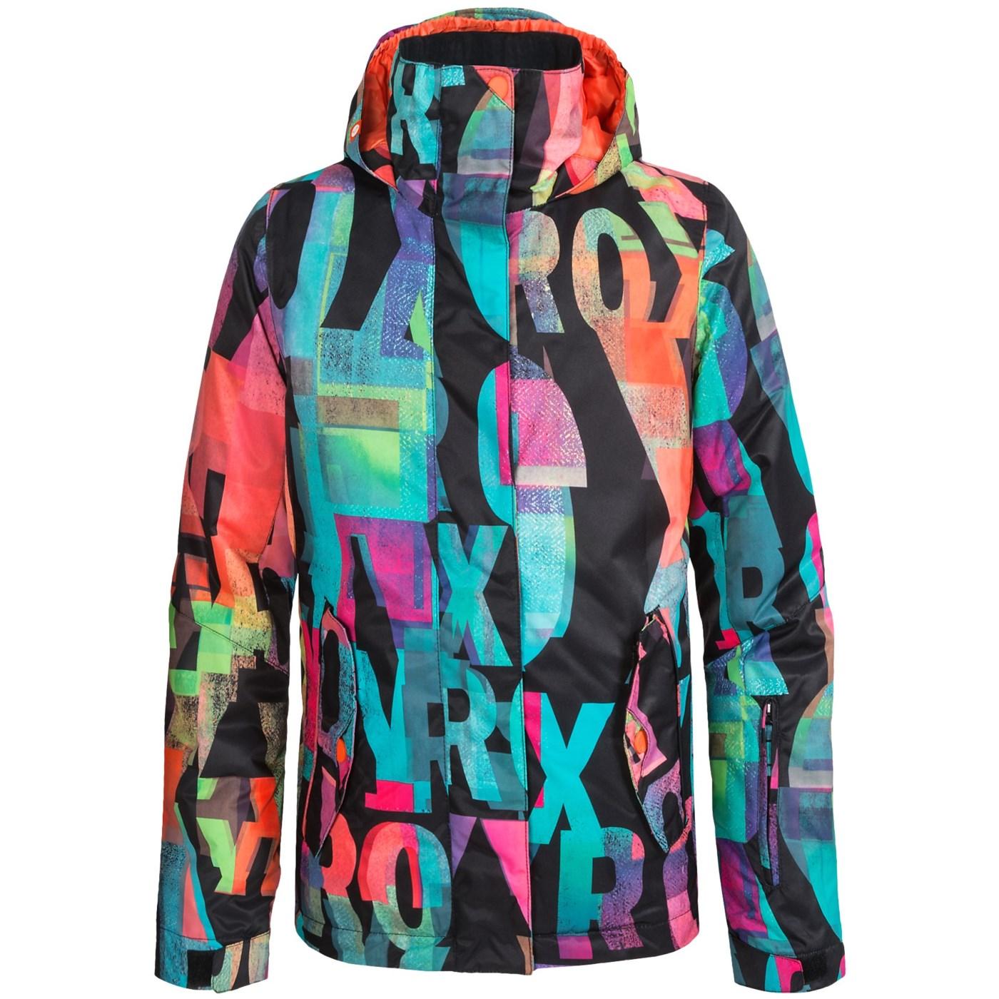 a4fbb94c6 Roxy Jetty Girl Ski Jacket (For Big Girls) 134RK 63 on PopScreen