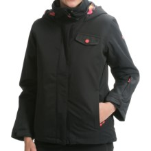 Roxy Jetty Snow Jacket - Waterproof, Insulated (For Girls) in Anthracite - Closeouts