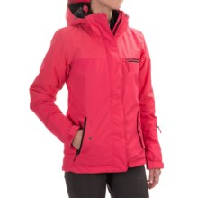 Roxy Jetty Solid Ski Jacket - Waterproof, Insulated (For Women) in Azalea - Closeouts