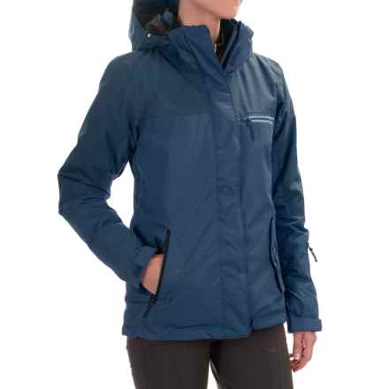 Roxy Jetty Solid Ski Jacket - Waterproof, Insulated (For Women) in Ensign Blue - Closeouts