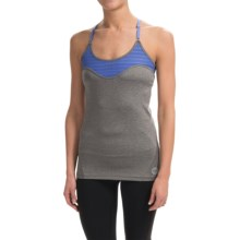 Roxy Jump Start Tank Top - Built-in Sports Bra (For Women) in Heritage Heather - Closeouts