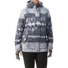 Roxy Juno Snowboard Jacket - Waterproof, Insulated (For Women) in Ozalee - Closeouts