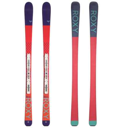 Roxy Kaya 72 L7 Alpine Skis with L7 B80 Bindings (For Youth) in See 44dd2a994622d