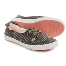 Roxy Kayak Lace Shoes (For Women) in Dark Grey - Closeouts