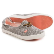 Roxy Kayak Lace Shoes (For Women) in Light Grey - Closeouts