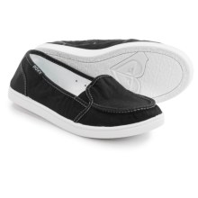 Roxy Lido III Slip-On Shoes (For Women) in Black/Aqua - Closeouts