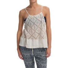 Roxy Little Geiger Shirt - Sleeveless (For Women) in Egret - Closeouts