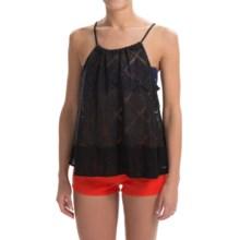Roxy Little Geiger Shirt - Sleeveless (For Women) in True Black - Closeouts
