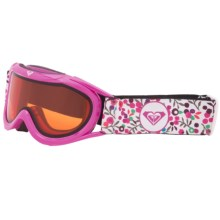 Roxy Loola Snowsport Goggles (For Girls) in Pink - Closeouts
