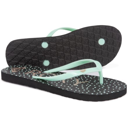 0d829834bfc5 Roxy Melon III Flip-Flops (For Women) in Navy Light Blue
