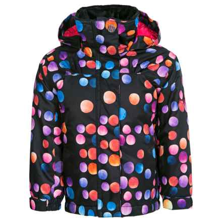 Roxy Mini Jetty Snowboard Jacket - Waterproof, Insulated (For Little Girls) in Cosmic Dots - Closeouts