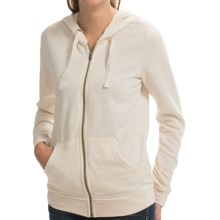 Roxy New Signature Hoodie - Full Zip (For Women) in Sandshell Heather - Closeouts