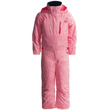 Roxy Paradise Snow Jumpsuit - Waterproof, Insulated (For Little Girls) in Dubarry - Stripe 1 - Closeouts