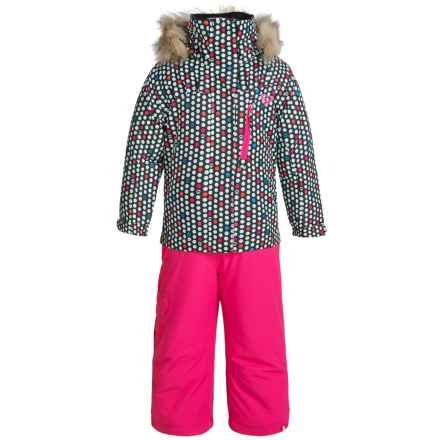 Roxy Paradise Snowsuit - Waterproof, Insulated (For Toddlers and Little Girls) in Dots Spots - Closeouts
