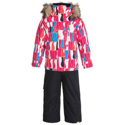 Roxy Paradise Snowsuit - Waterproof, Insulated (For Toddlers and Little Girls) in Penguin - Closeouts