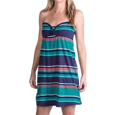 Roxy Perfect Life Dress - Strapless (For Women) in Estate Stripe - Closeouts