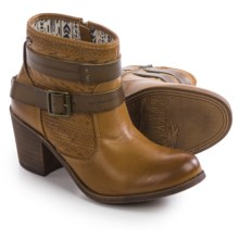 Roxy Petra Ankle Boots - Vegan Leather (For Women) in Tan - Closeouts