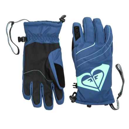 Roxy Popi Snowboard Gloves - Insulated (For Women) in Ensign Blue - Closeouts