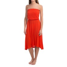 Roxy Pure Luxe Dress - Strapless (For Women) in Orange - Closeouts