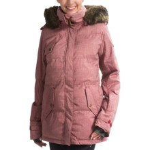 Roxy Quinn Snow Jacket - Waterproof, Insulated (For Women) in Rhubard - Solid - Closeouts