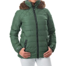 Roxy Quinn Snowboard Jacket - Waterproof, Insulated (For Women) in Jungle Green - Closeouts