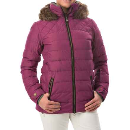 Roxy Quinn Snowboard Jacket - Waterproof, Insulated (For Women) in Magenta Purple - Closeouts