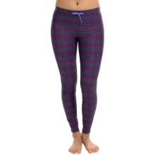 Roxy Relay Compression Pants (For Women) in Astral/Chevron - Closeouts