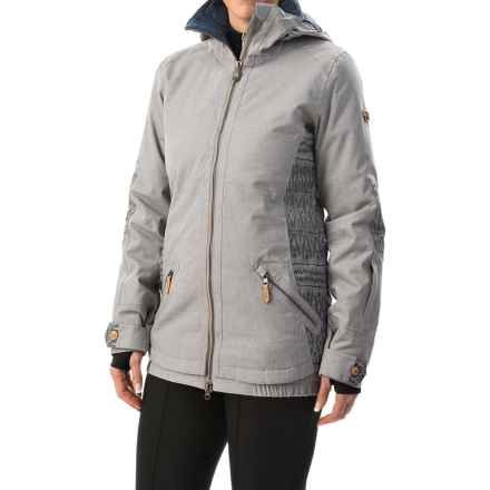Roxy Ridgemont Snowboard Jacket - Waterproof, Insulated (For Women) in Heather Grey - Closeouts