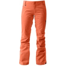 Roxy Rushmore 2L Gore-Tex® Snowboard Pants - Waterproof, Insulated (For Women) in Nasturtium - Closeouts