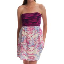 Roxy Savage 3 Strapless Dress (For Women) in Afterglow - Closeouts