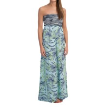 Roxy Savage Maxi Dress - Strapless (For Women) in Sky Blue - Closeouts